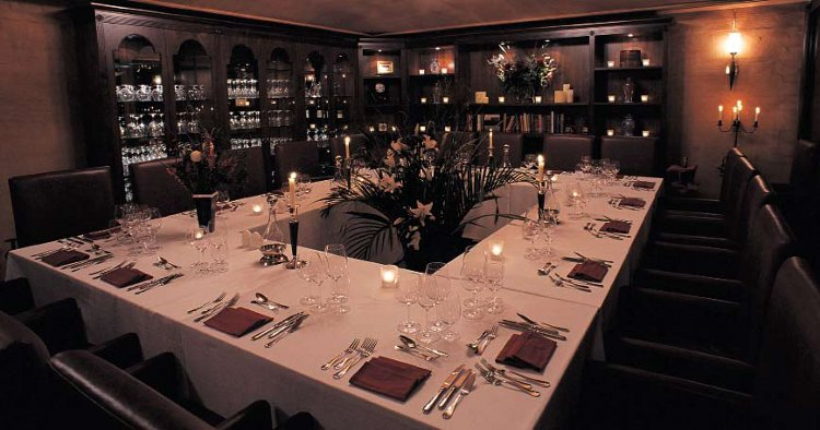 Crown Cellars in Hong Kong offers a luxurious dining room as well as perfectly preserved and protected fine-wine storage in the island's only underground facility