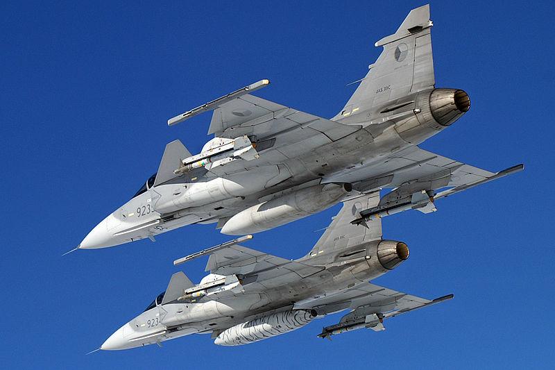 Gripen aircraft