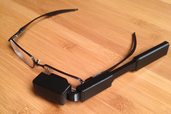 DIY Wearable Pi with Near-Eye Video Glasses (Credit: Adafruit)