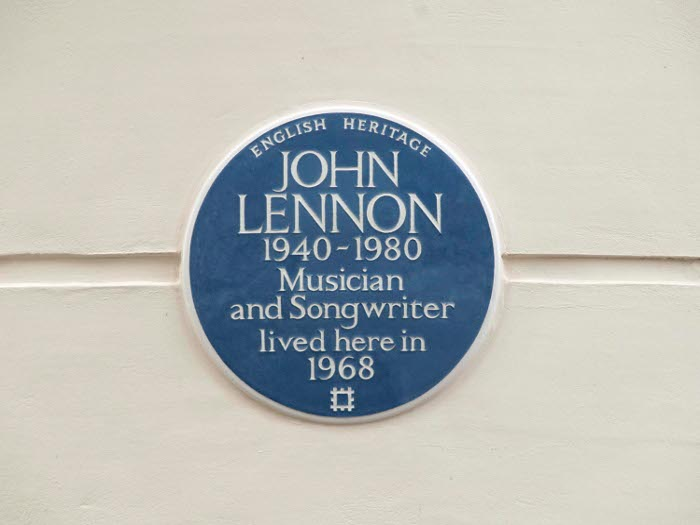 English Heritage now runs London's blue plaque scheme, founded in 1866 Courtesy English Heritage