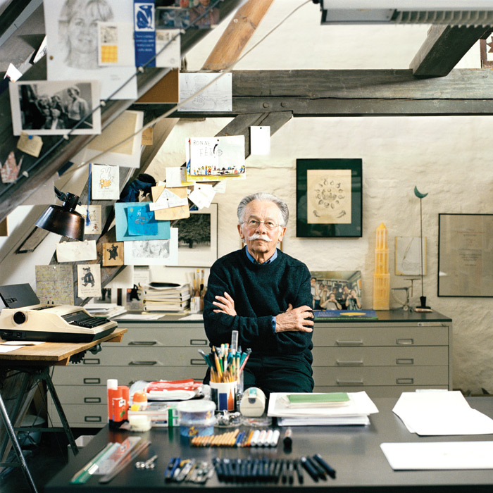 A replica of Bruna's studio is being constructed for a retrospective of his work later this year at the Centraal Museum, Utrecht. Photo: Pal Hanson