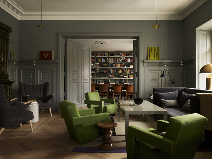 Ett Hem, a 12-bedroom hotel in Stockholm with a domestic atmosphere (2012). Photo: Magnus Marding
