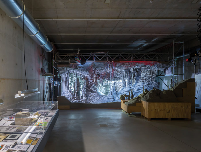 Thomas Demand's Processo Grottesco unusually shows the artist's working methods, in a bespoke basement space