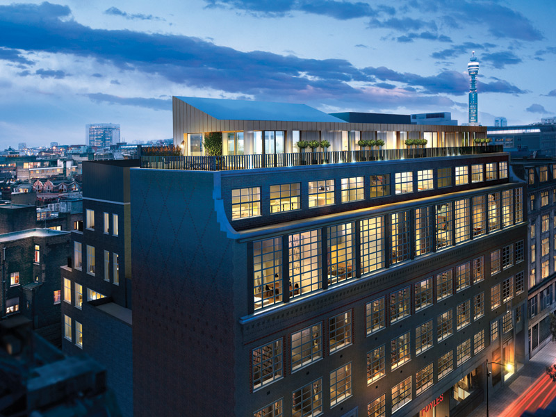 One of The Saint Martins Lofts interiors, being styled by former Central St Martins' student Marc Péridis, of 19 Greek Street, will feature hand-picked pieces from an international selection of designers.