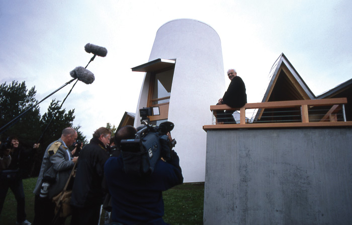 The opening of Gehry's centre caused a media storm. Photo: 10 Charles Jencks