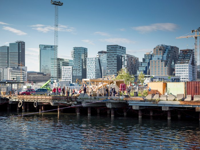 Slow Space was is a seven-year project with initiatives including the creation of a public bakehouse by Californian group Futurefarmers in Oslo's Bjørvika district