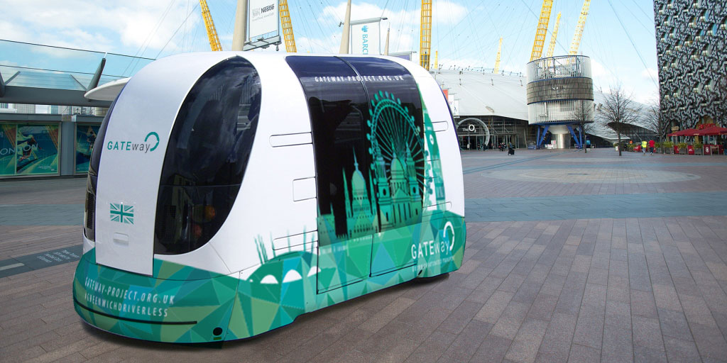 driverless cars gateway pod