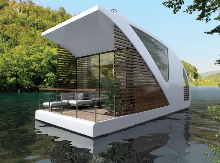Luxury Hotels Drifting Catamaran