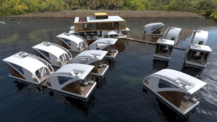 Luxury Hotels on lakes