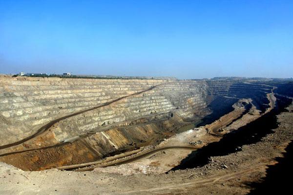 India zinc mine