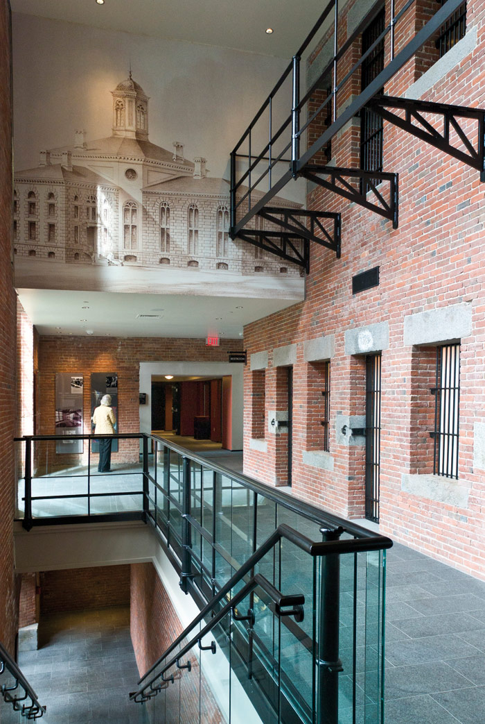 The Liberty Hotel in Boston transformed the Charles Street Jail in 2007. Photo Credit: Kwesi Budu-Arthur/CJA