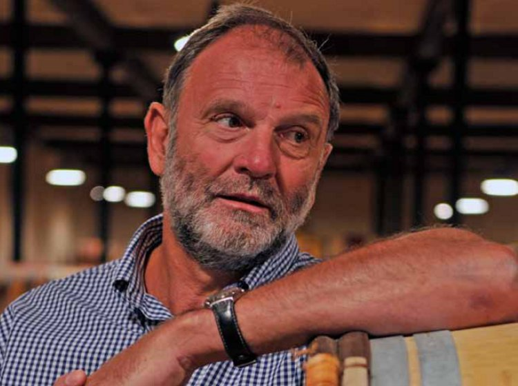 "John Kolasa of Château Rauzan-Ségla and Ulysse Cazabonne, which deliberately keeps plenty of stock: ""We don't call ourselves a négociant but rather a marchand de vin"""