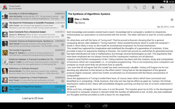 K-9 Mail is an ideal alternative to the build-in email apps for Android.