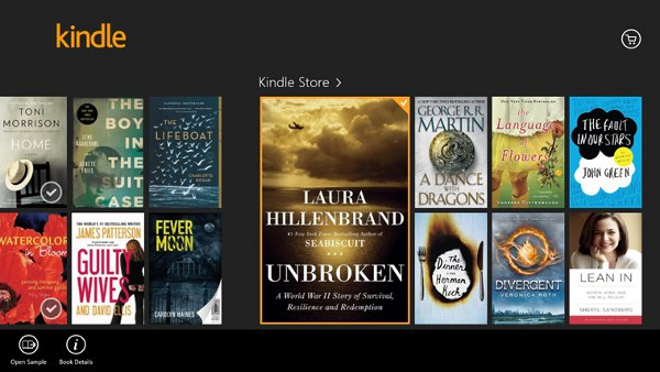 Kindle app for Surface Pro 3
