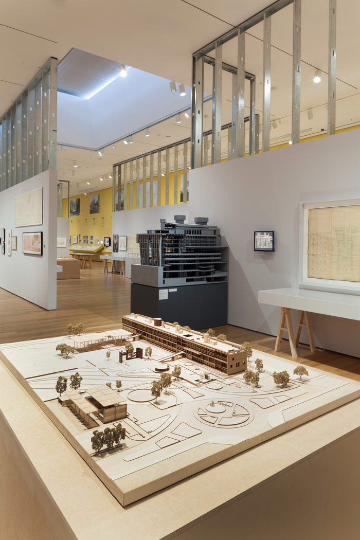 Views from the Latin America in Construction exhibition at MoMA in New York