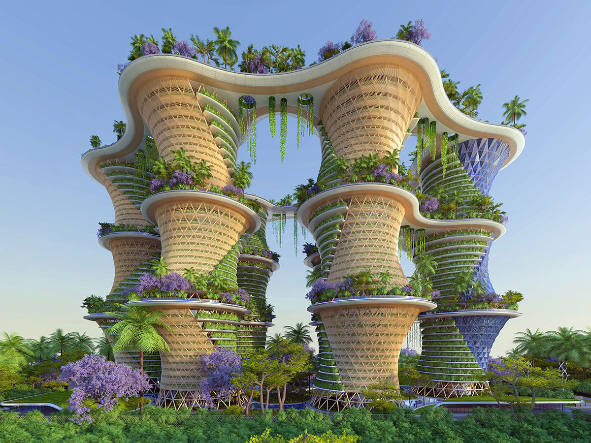 Are Vertical Villages The Answer To An Eco Future