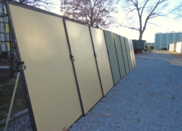 Modular Shelter Systems : Us army scientists develop new ballistic protection system