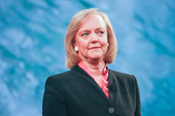 Meg Whitman, chief executive of Hewlett-Packard