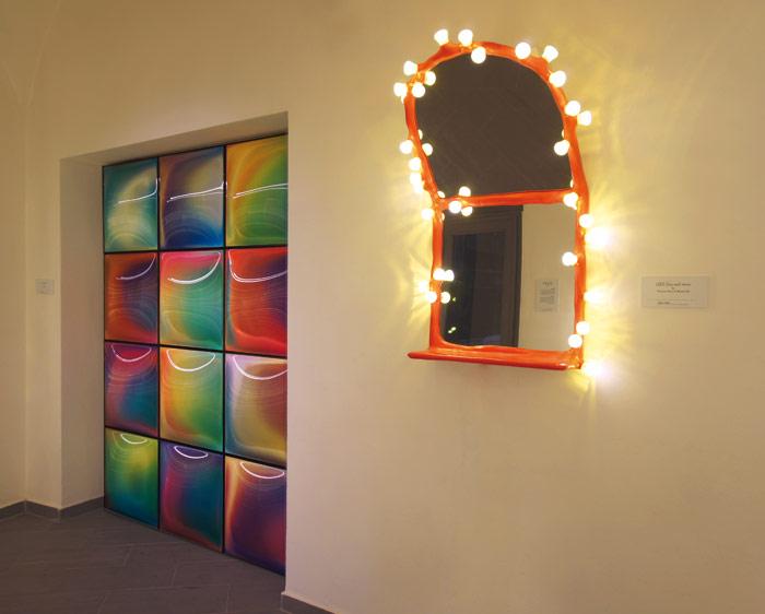 Maarten Baas's stand at Milan's Salone this year.Photo Credit: Job Jonathan Schlingemann www.splinter.tv