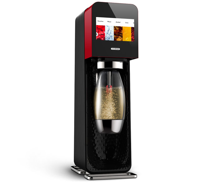 Sodastream Mix by Yves Behar. You will be able to carbonate just about any liquid and share the result via social media