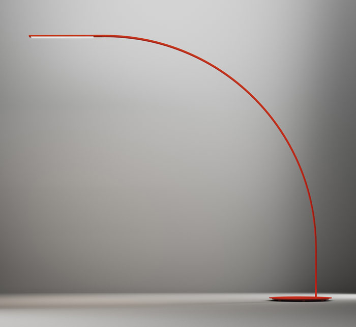 Fontana Arte, Yumi by Shigeru Ban. A precise and sculptural large light from the Japanese architect