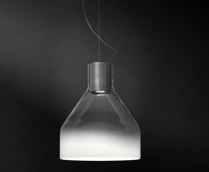 Foscarini, Caiigo by Marco Zito. This mimics the mist rising from the water in Venice and is truly beautiful in the flesh
