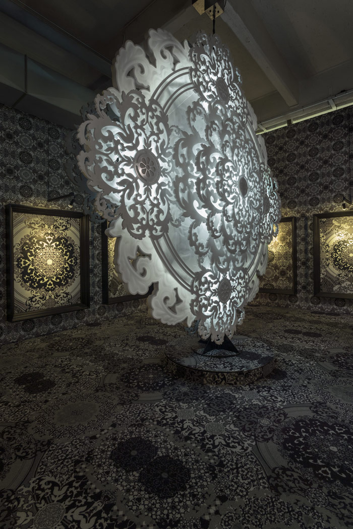 Hi-Macs, Rational and Emotional Worlds installation by Marcel Wanders. A typically understated piece from Wanders