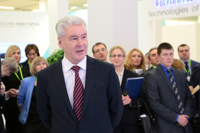 Moscow mayor Sergei Sobyanin at MUF 2014. Photo Credit: MUF
