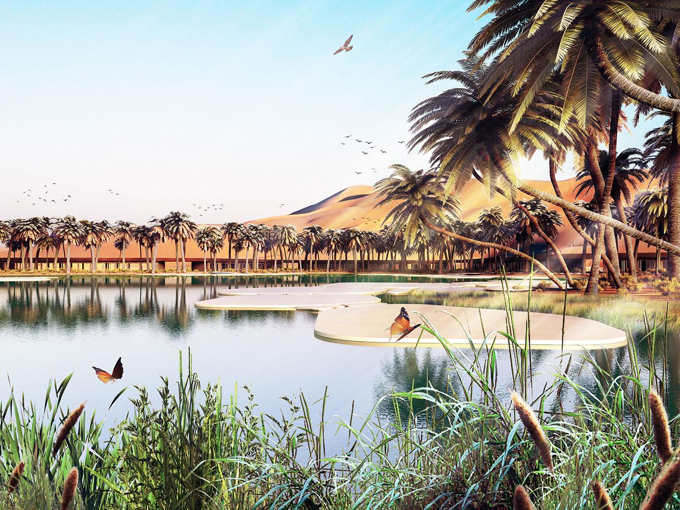 UAE green oasis