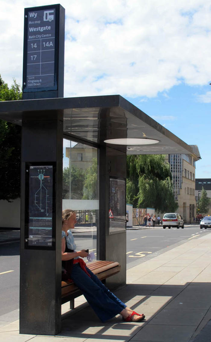 For Bath PearsonLloyd has designed a range of street furniture as part of a wider initiative by the city