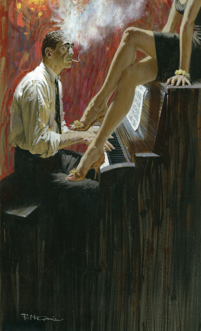Vintage doing the piano teacher and friend - 3 6