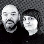 Rosario Hurtado and Roberto Feo