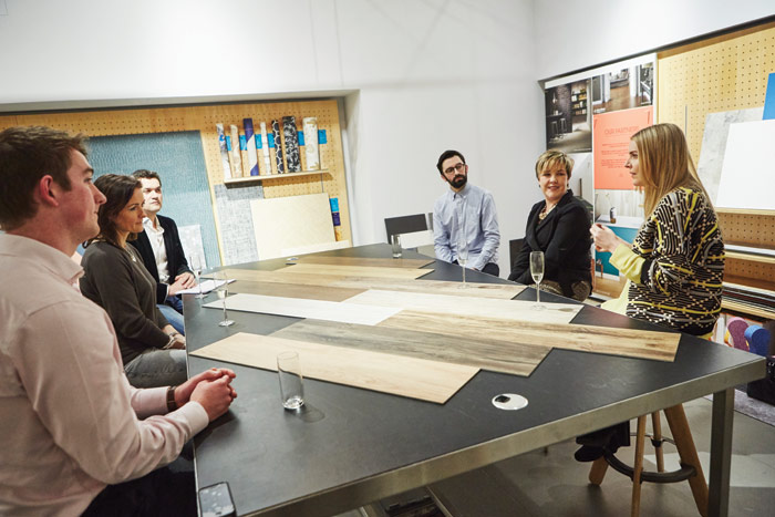 London's Materials Lab was the venue for a discussion