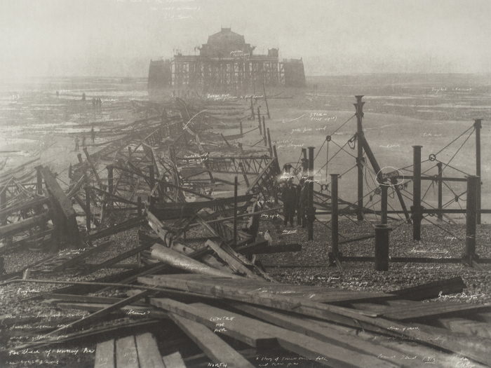 Tacita Dean, The Wrecking of Worthing Pier, 2001 Courtesy The Tate Collection