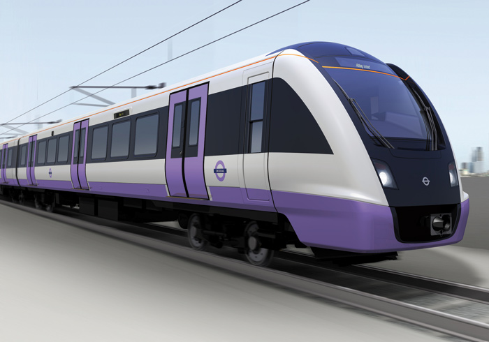 The new train for Crossrail