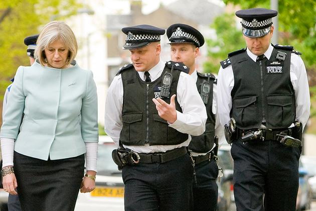 UK Home Secretary Theresa May