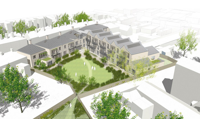 OWCH working with Hanover has the Union Street Cohousing scheme in North Barnet, with two others planned elsewhere