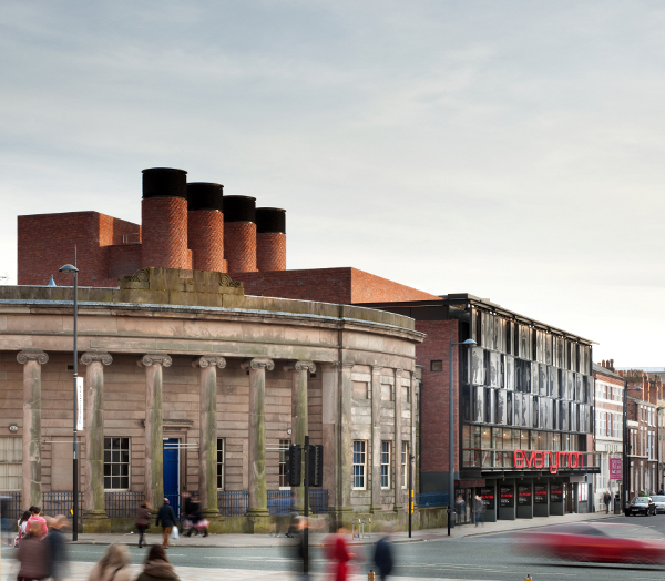Despite the total rebuild, the architects have kept a few of the original's features; the new Everyman has been designed to complement its surroundings