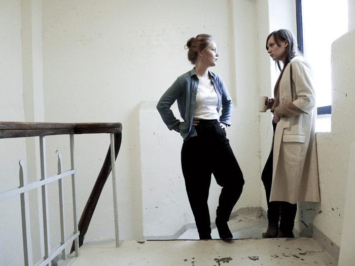 Vera Kleppe and Åshild Kyte