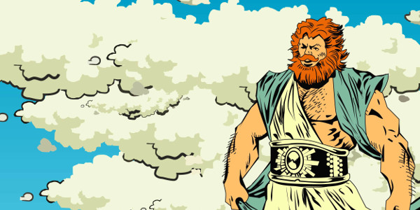 Zeus is not merely a Greek god; he is also a Trojan virus. Divided loyalties.