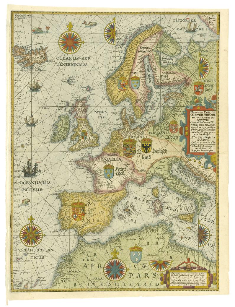 Waghenaer's 'Universe Europae Maritime'