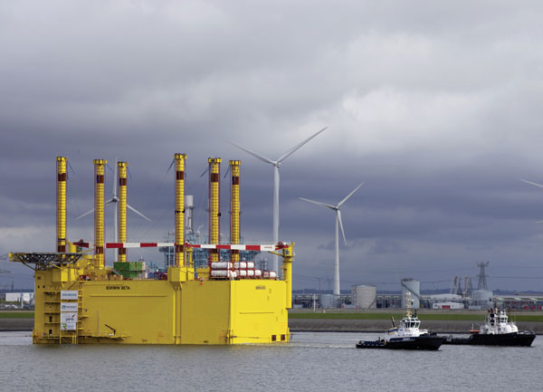 BorWin2 on its way to its sea station