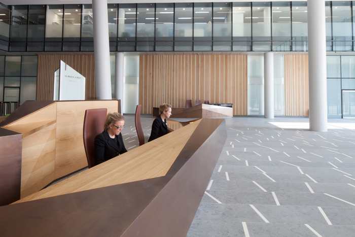 Reception desk design five of the best in London DesignCurial