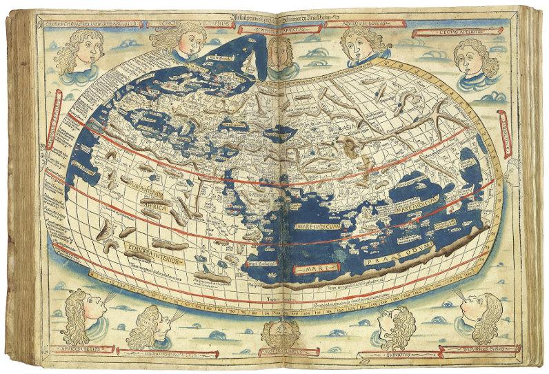 Ptolemy's 'Cosmographia', edited by Nicolaus Germanus