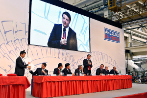 FSI and Shanghai Electric sign strategic agreement for sale of 40% of Ansaldo Energia on 8 May