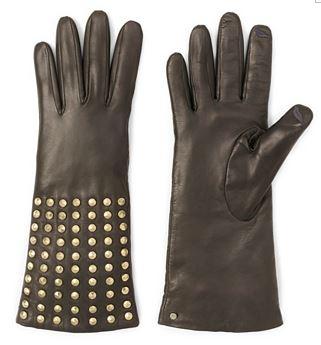 DVF Studded Gloves