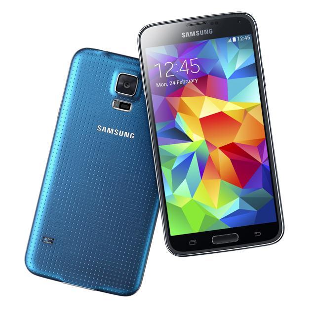 Galaxy S5 blue