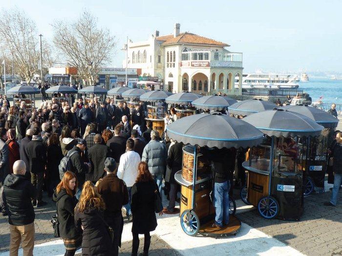 TAK's redesigned street vendor carts