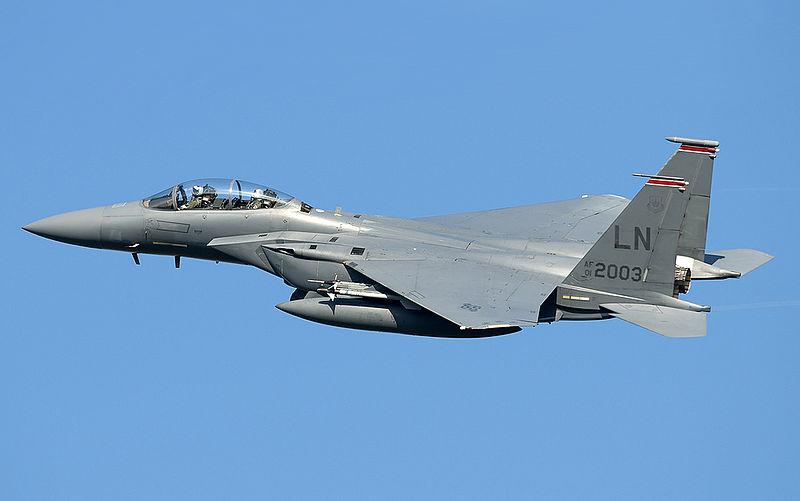 F-15 aircraft