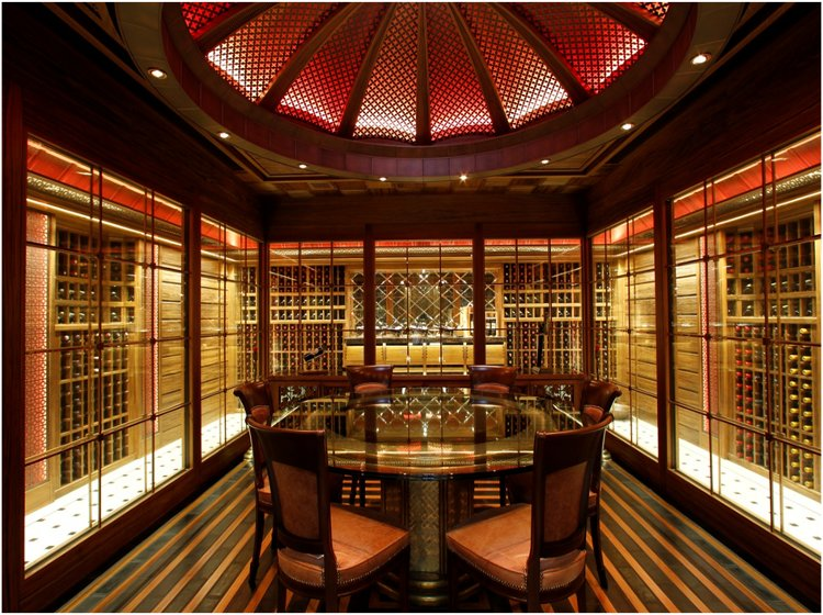 The 6 most impressive wine cellars in the world world of for Cost to build a wine cellar
